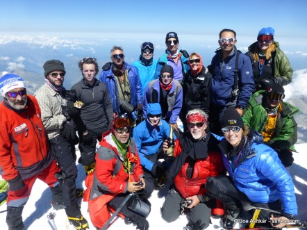 Elbrus Summit Celebrations!!!