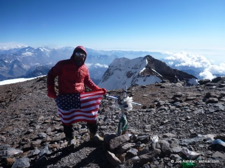 Aconcagua Day 12: Summit Day!!!