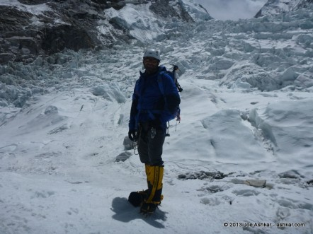 Day 17: Foray into the Khumbu Ice Fall