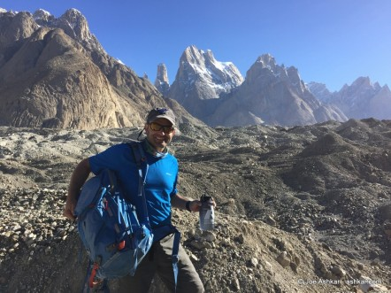 K2: Climbing up the Baltoro Glacier