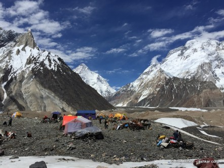 K2: Arrived in Concordia, one day away from K2BC