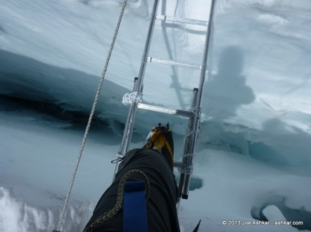 Days 23, 24, 25: First Rotation, Rest & Adventures in the Icefall