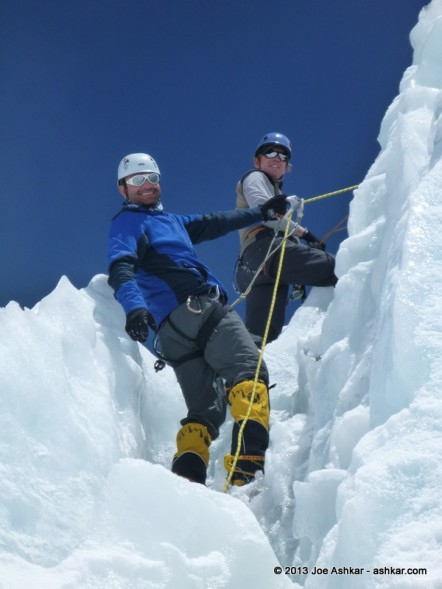Day 26: Rest/Fun Day in and around the Icefall