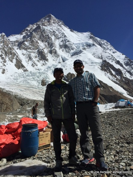 K2: Rest day at K2 Base Camp