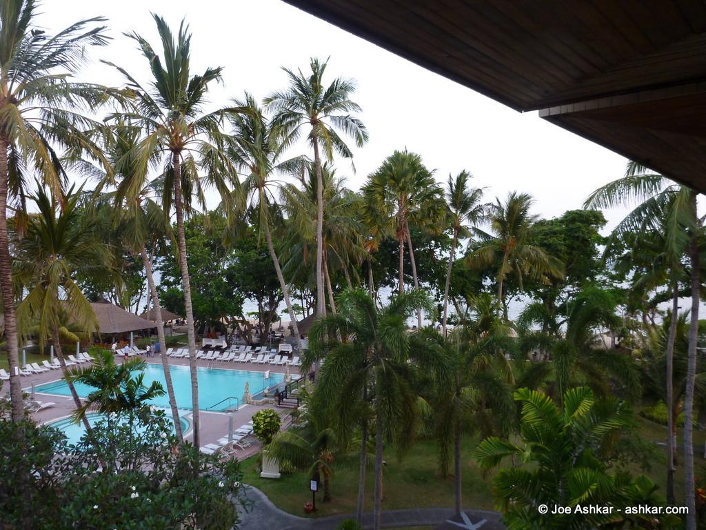 Sanur Beach Hotel in Bali.