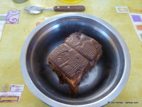 Torta Chocolata for dessert.