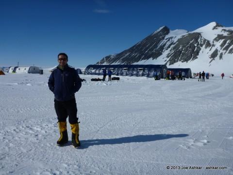 Union Glacier Base Camp.