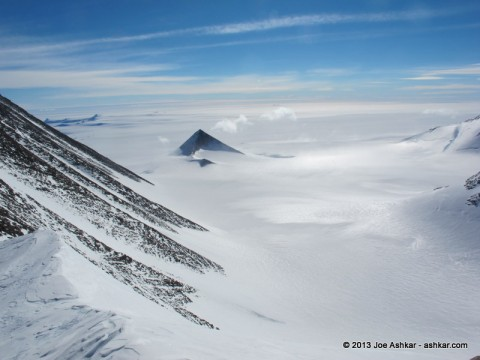 Spectacular Antarctic Scenery.