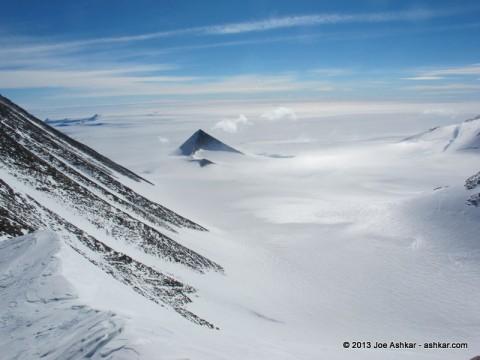 Spectacular Antarctic Scenery.