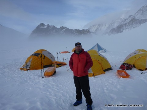 Joe Ashkar at Vinson Low Camp.