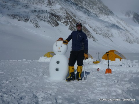 Antarctic Snow Man.