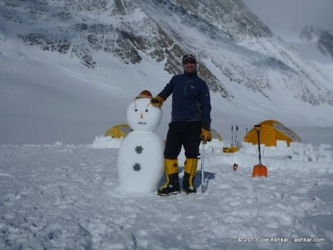 Antarctic Snow Man.