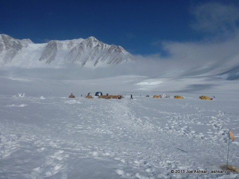 Vinson Base Camp.