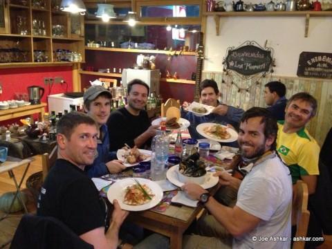 Dinner at La Marmita.