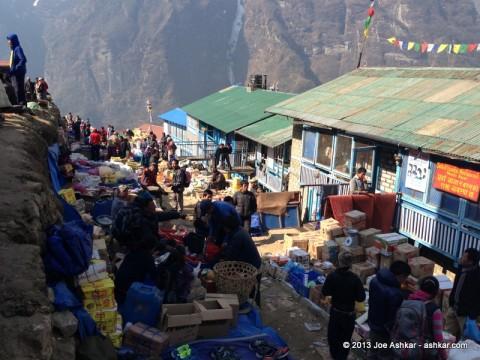 Namche Bazar Market