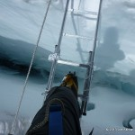 Ladder crossing in the Icefall.