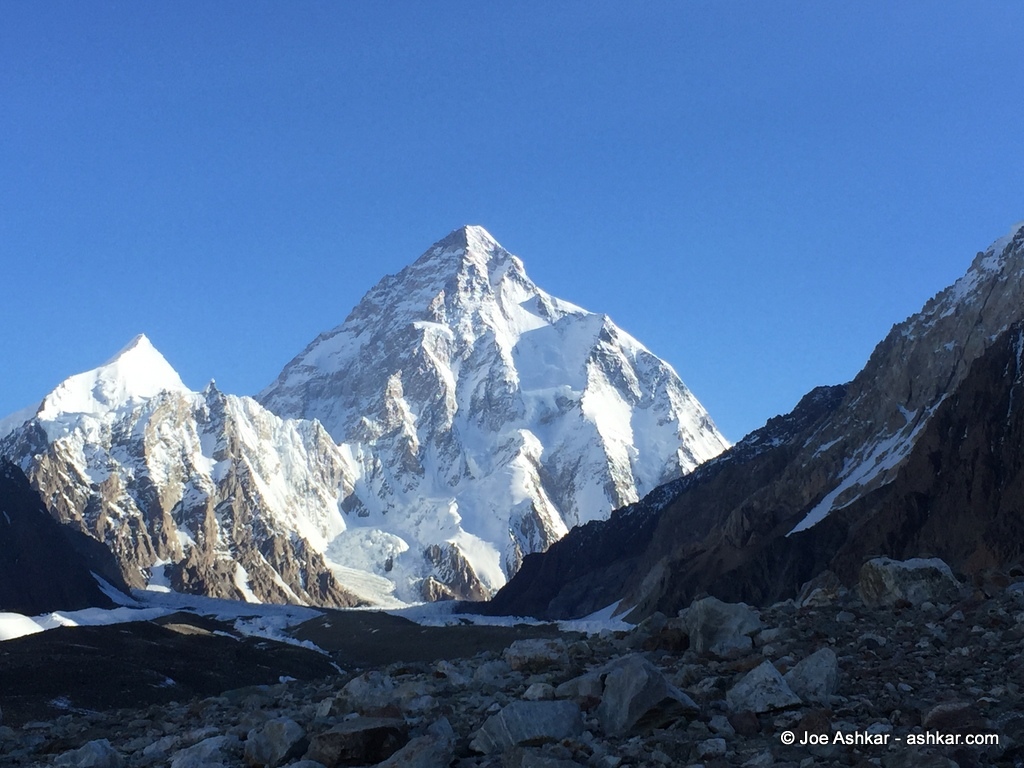 K2: Arrived at K2 Base Camp - Joe Ashkar